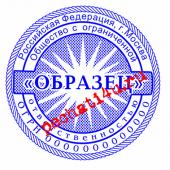 ПЕЧАТЬ С СЕТКОЙ И ОКАНТОВКОЙ №11 800 Р